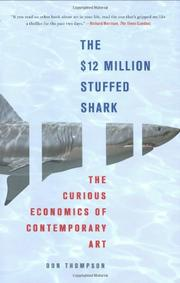 THE $12 MILLION STUFFED SHARK by Donald N. Thompson