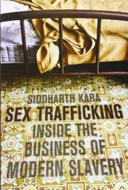 Book Cover for SEX TRAFFICKING