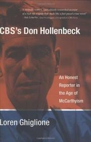 CBS'S DON HOLLENBECK by Loren Ghiglione