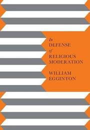 Cover art for IN DEFENSE OF RELIGIOUS MODERATION