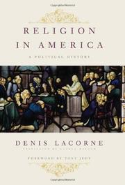 Book Cover for RELIGION IN AMERICA