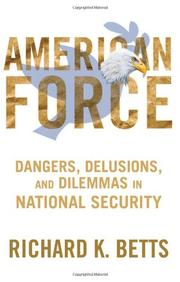 Cover art for AMERICAN FORCE
