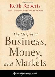 Cover art for THE ORIGINS OF BUSINESS, MONEY, AND MARKETS