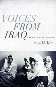 Cover art for VOICES FROM IRAQ