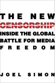 THE NEW CENSORSHIP by Joel Simon