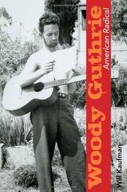 Cover art for WOODY GUTHRIE, AMERICAN RADICAL