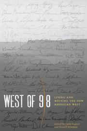 WEST OF 98 by Lynn Stegner