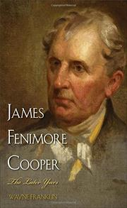 JAMES FENIMORE COOPER by Wayne Franklin