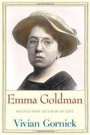 EMMA GOLDMAN by Vivian Gornick