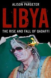 LIBYA by Alison Pargeter