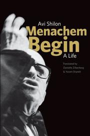 Book Cover for MENACHEM BEGIN