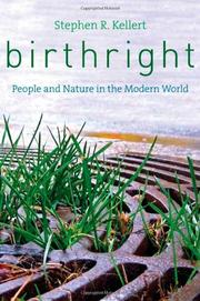 BIRTHRIGHT by Stephen R. Kellert