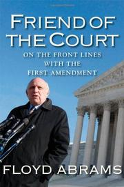 FRIEND OF THE COURT by Floyd Abrams