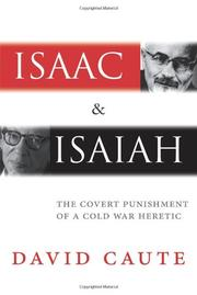 ISAAC AND ISAIAH by David Caute