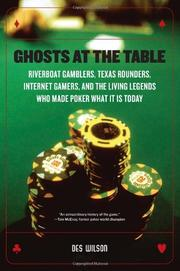 Cover art for GHOSTS AT THE TABLE
