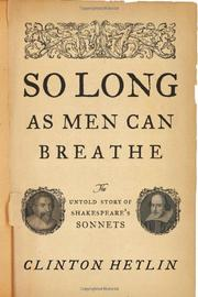 Cover art for SO LONG AS MEN CAN BREATHE