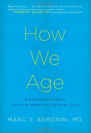 Book Cover for HOW WE AGE