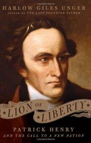 Cover art for LION OF LIBERTY