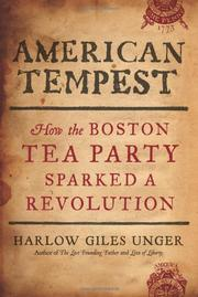 Cover art for AMERICAN TEMPEST