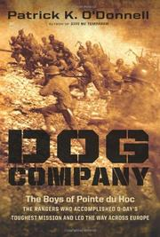 DOG COMPANY by Patrick O'Donnell