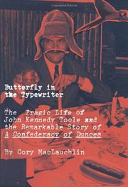 BUTTERFLY IN THE TYPEWRITER by Cory MacLauchlin