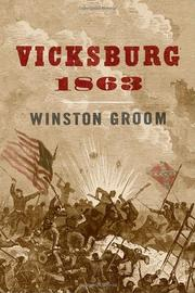 Book Cover for VICKSBURG, 1863