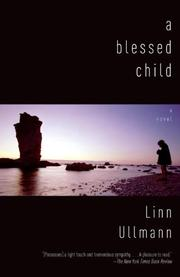 Cover art for A BLESSED CHILD