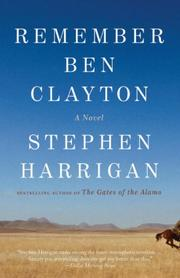 Cover art for REMEMBER BEN CLAYTON
