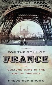 Book Cover for FOR THE SOUL OF FRANCE