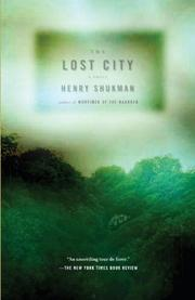 THE LOST CITY by Henry Shukman