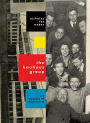 Cover art for THE BAUHAUS GROUP