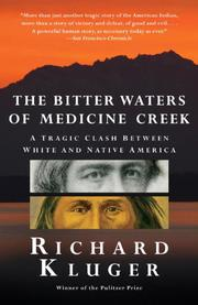 Book Cover for THE BITTER WATERS OF MEDICINE CREEK