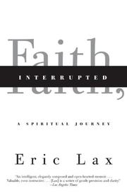 Book Cover for FAITH, INTERRUPTED