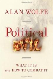 Book Cover for POLITICAL EVIL
