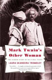 MARK TWAIN'S OTHER WOMAN by Laura Trombley