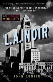 Cover art for L.A. NOIR