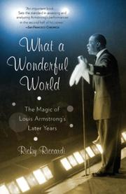 WHAT A WONDERFUL WORLD by Ricky Riccardi