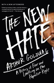 Book Cover for THE NEW HATE