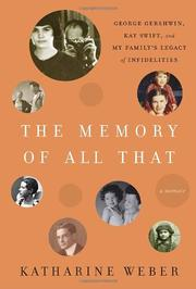 Cover art for THE MEMORY OF ALL THAT
