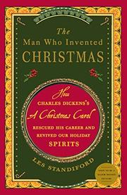 Cover art for THE MAN WHO INVENTED CHRISTMAS