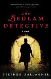 Book Cover for THE BEDLAM DETECTIVE