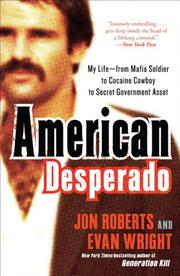 Cover art for AMERICAN DESPERADO