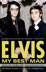 Book Cover for ELVIS: MY BEST MAN