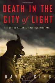 Cover art for DEATH IN THE CITY OF LIGHT