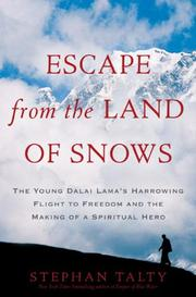 Book Cover for ESCAPE FROM THE LAND OF SNOWS