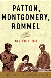 Cover art for PATTON, MONTGOMERY, ROMMEL