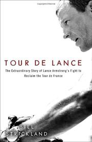 TOUR DE LANCE by Bill Strickland