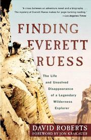 Cover art for FINDING EVERETT RUESS