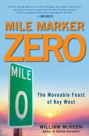 Cover art for MILE MARKER ZERO