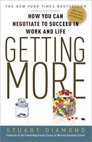 Cover art for GETTING MORE